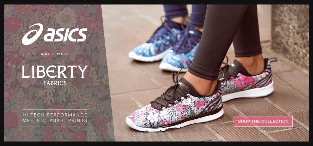Asics Footwear Collab on Superbase Creative